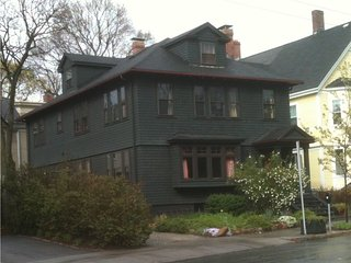 Charming house near the Charles River in Harvard Square, Cambridge, ma