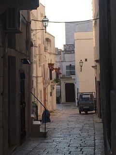 Typical Cisternino street