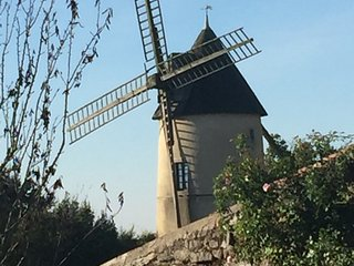 Moulin85 - A Beautiful 19th Century Windmill, La Chapelle-Themer