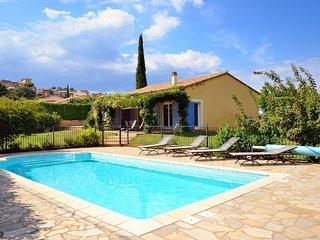 Villa en Provence 10 pers. avec piscine privée, site web : www.stjulien.be