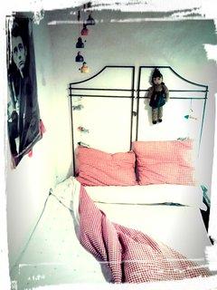 Cama doble del dormitorio Marilyn