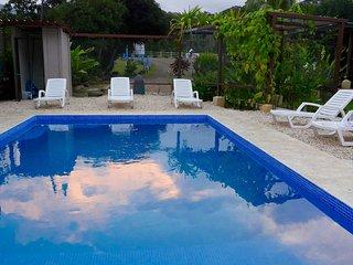 Uvita,Costa Rica, Cabina Casa Del Leon, Rental.