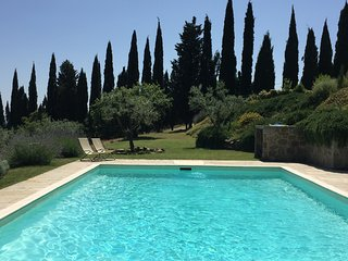 Charming farmhouse pool and stunning view., San Giustino Valdarno
