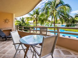 Marina View Waterfront Condo with resort style pool.