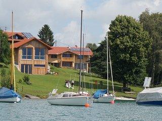 das SEE-IDYLL - Premium-Chalet am Forggensee