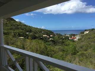 Spacious 2 bedroom apartment with Caribbean sea views, Mero, Dominica
