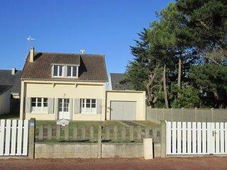 maison bergeronnette, plage 50 m, Pirou