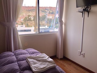 Comfortable room and the best view of La Paz