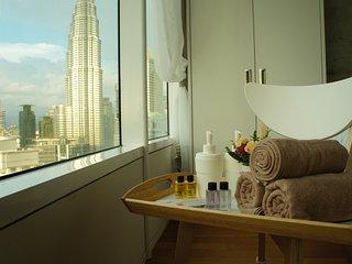 Vortex Luxury on46 Suite( Near KLCC, Train, City View, Pavilion KL)
