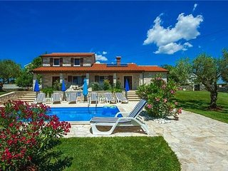 4 bedroom Villa in Kastelir, Istria, Croatia : ref 2372911