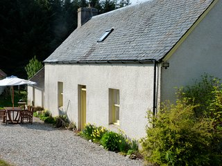 Traditional Highland Croft House And Land.