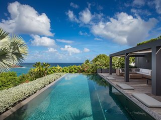 The swimming pool promises hours of fun spent cooling off St Barts climate, Gustavia