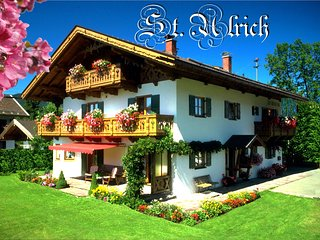 Feriendomizil St. Ulrich - Ferienwohnung HERZOGSTAND **** - Alpenwelt Karwendel, Krun