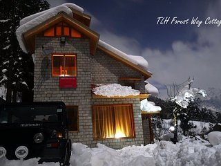 Your Home in the Himalaya, Forest Way Cottage 4BR, Manali