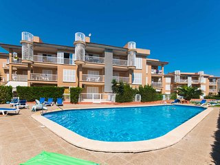 PORT POLLENSA 2ROOMS 4PAX POOL  AC, Port de Pollenca