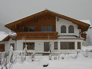 Luxury ski chalet in Filzmoos, Ski Amade region near Salzburg.