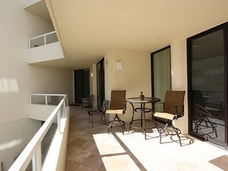 Large, over sized balcony to enjoy the view!