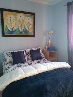 Misma habitacion con cama,1,35 en la planta de abajo