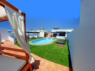 Villa Valeria Piscina y jacuzzi climatizado, Playa Blanca