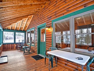 Your lakeside retreat begins at this Rangeley Plantation vacation rental cabin!