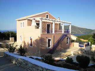 villa near fiscardo at village tselentata
