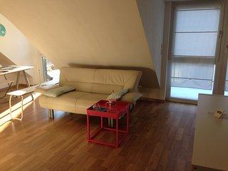 Apartment Ochsenfurt 36qm Balcony WiFi