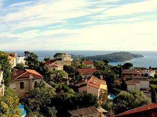 Flat 8 pers. with amazing view, Villefranche-sur-Mer