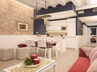 Enjoybcn Colon Apartments- Amazing by Las Ramblas. Sleeps 8, roof terrace