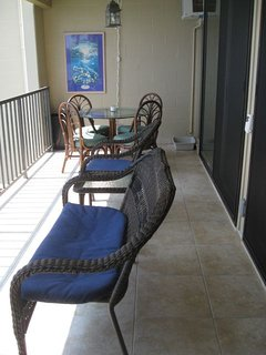 Compliment of Lanai furniture (chaise lounge included but not shown)
