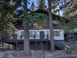 4 Bedroom Mountain Chalet in Quiet Setting ~ RA807, Incline Village