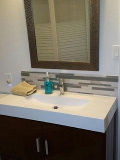 Updated main bathroom