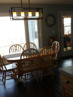 Dining room over looking vast blue waters of Lake Erie!!
