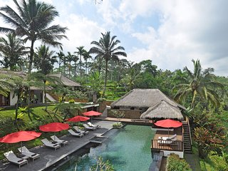 Luxurious and Gorgeous 5BR Villa and Resort north of Ubud