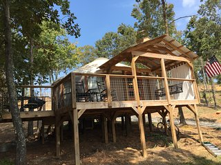 YURT on Logan Martin Lake-Talladega Alabama