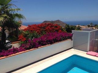 Villa vista mare con piscina privata ., Chayofa
