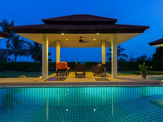 Enchanting 4BR  serviced beachfront villa in stunning, peaceful surroundings