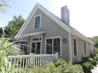 3BR Beach Cottage Steps to the Sandy Shores of Lake Michigan's Sheridan Beach