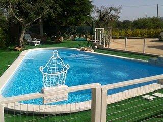 Appartamento in villa vista piscina Villa nonna Maria