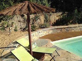Puimisson house for holidays in South of France with private pool sleeps 10