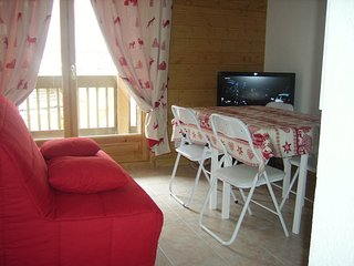 Appartement en chalet,a la Giettaz (Savoie)