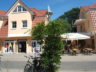 2-Zi-Ferienwohnung SEEWOLF direkt im Herzen von Zingst