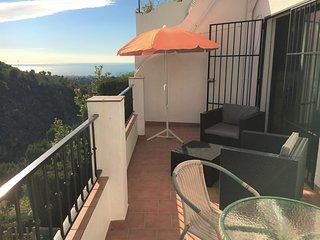 Apartamento con vistas a la montaña, mar, rio,..., Frigiliana
