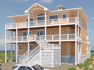 Majestic Oceanfront Home in Duck, Kitty Hawk