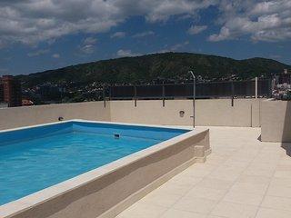 Departamento céntrico con SUM y piscina