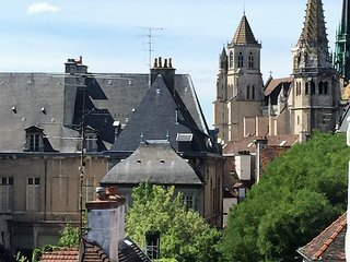 Best View In Dijon. Large 2 Bedroom Apartment.