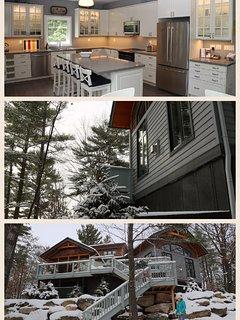 Magical winter wonderland at Muskoka Soul Cliff Bay House