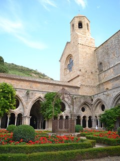 Abbaye de Fontfroide - a must on your 'to do list.' Amazing history & fantastic restaurant.
