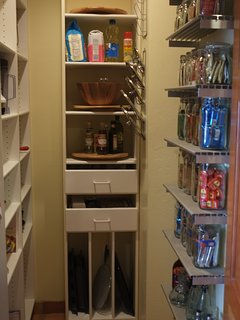 Walk-in pantry (stocked with instant oatmeal, toaster treats and breakfast bars)