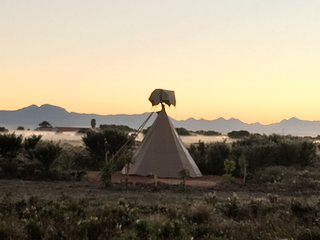 Sunset Teepee Retreat - Sitting Bull Teepee