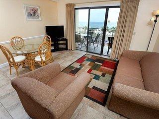 Ocean Front Condo 1 bed room 1 1/2 bath w/ Bunkbeds & sleeper sofa (sleeps 6)